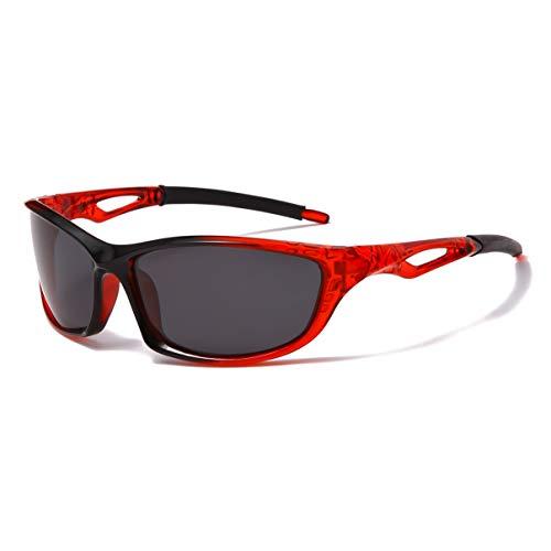 Long Keeper Gafas de sol polarizadas para hombre, visión clara, correr, conducir, pesca, deportes frescos, gafas de sol
