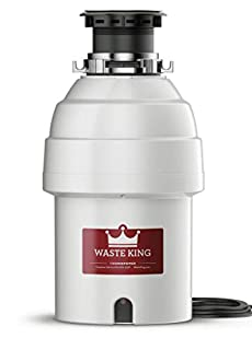 Waste King L-8000 Garbage Disposal with Power Cord, 1 HP (B000DZGN7Q) | Amazon price tracker / tracking, Amazon price history charts, Amazon price watches, Amazon price drop alerts