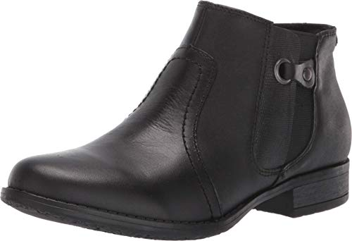 Earth Origins Women's, Navigate Norma Ankle Boot Black 10 M