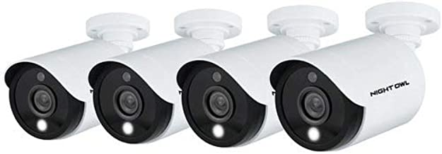 Night Owl Wired 5MP HD Indoor/Outdoor Add-on Cameras with...