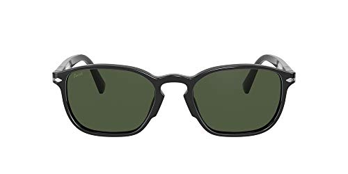 Persol 0PO3234S Gafas, BLACK/GREEN, 54 para Hombre