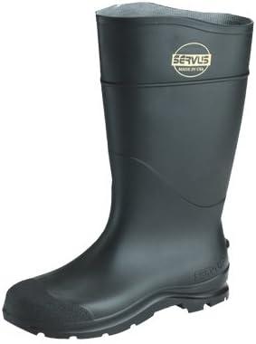 Size 8 CT Safety Hi Plain Toe Boot