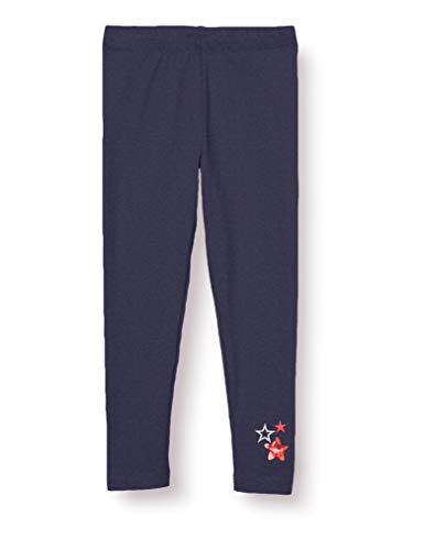 Salt & Pepper Mädchen 03115235 Leggings, Blau (Navy 498), (Herstellergröße: 92/98)