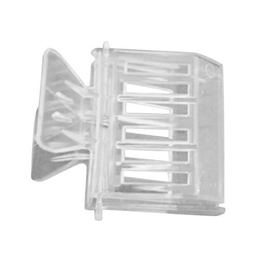 MXECO Clip de plástico Transparente Reina Jaula Clip Abeja Catcher Clip Apicultura Clip Duradero Abeja de Material de Herramienta para la Vida del Apicultor Rone