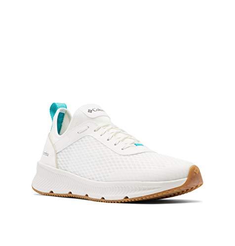 Columbia Men's Summertide Shoe, Sea Salt/Tropic Water, 8.5