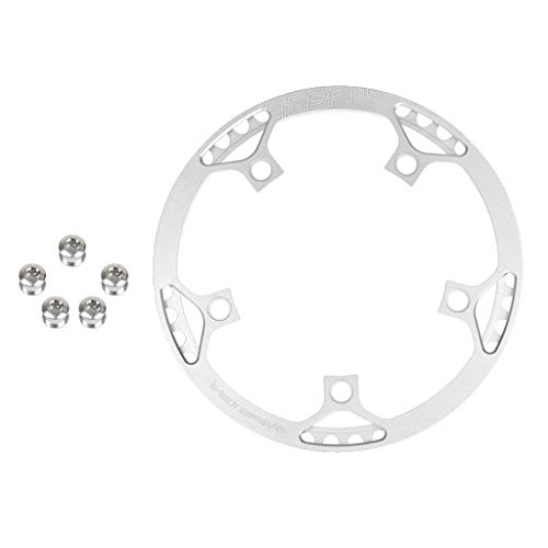 #N/A 45T Chainring 130 BCD Single Chain Ring & 5 Bicycle Chainwheel Screws