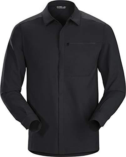 Acteryx Herren Skyline Hemd, Black, L