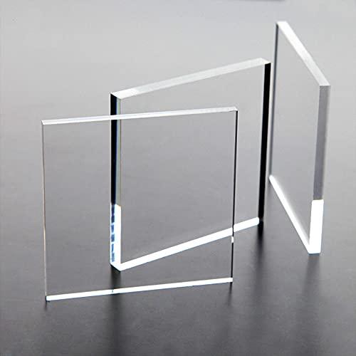 Acrylglas AtHaus® 2-8 mm Zuschnitt Scheibe Transparent Glasklar Materialstärke und Größe Wählbar (3 mm, 300 x 200 mm)