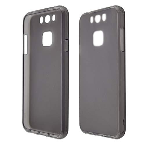 caseroxx TPU-Hülle für Gigaset ME, Handy Hülle Tasche (TPU-Hülle in schwarz-transparent)