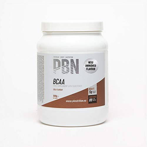 PBN - Premium Body Nutrition BCAA 500g Cola, New Improved Flavour