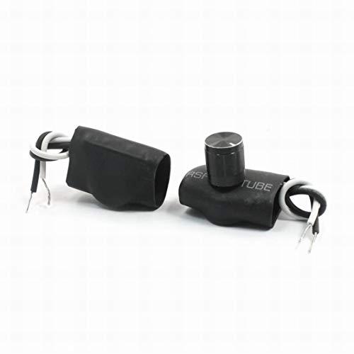 Interruptor de control de atenuación de luz de 2 piezas 220V 1-3a interruptor de control negro