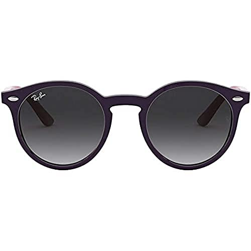 Ray-Ban Junior Unisex-Kinder RJ9064S Brillengestelle, Violett (Violet/Gradient Grey), 44