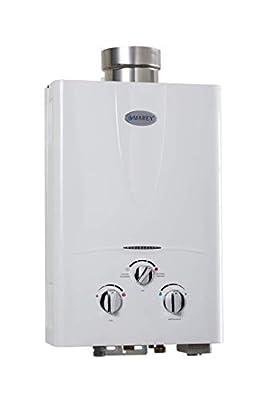 Marey GA10LP Power 10L 3.1 GPM Propane Gas Tankless Water Heater, Liquid, White