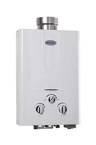 Marey GA10LP Power 10L 3.1 GPM Propane Gas Tankless Water Heater, Liquid, White -  MARGA10LP