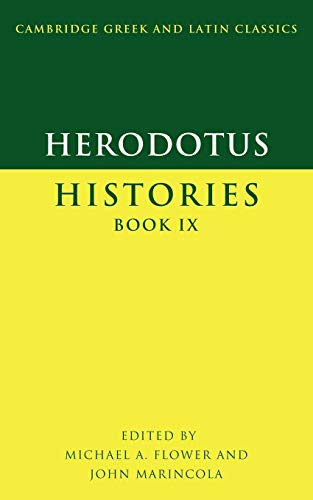 Herodotus, Histories Book IX (Cambridge Greek and Latin Classics) (Greek and English Edition)