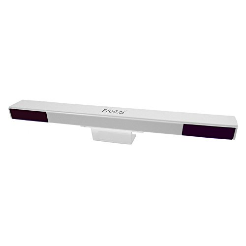 Eaxus®️ Wireless Infrarot Sensorleiste für Nintendo Wii + Wii U / Sensorbar kabellos