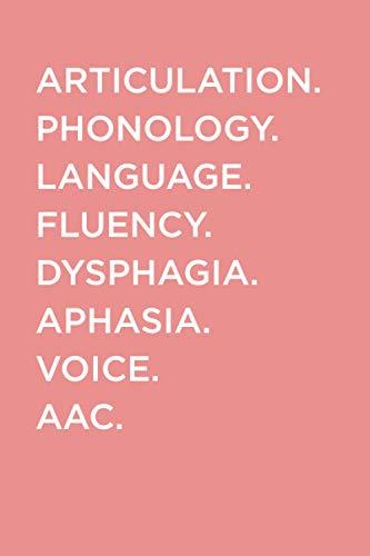 Speech Therapist Notebook: SLP Notebook | Speech Therapist Scope of Practice Journal, Speech Language Pathology Gifts, Best Speech Therapist, Perfect SLP Gift For Notes | 6x9 College Ruled Book