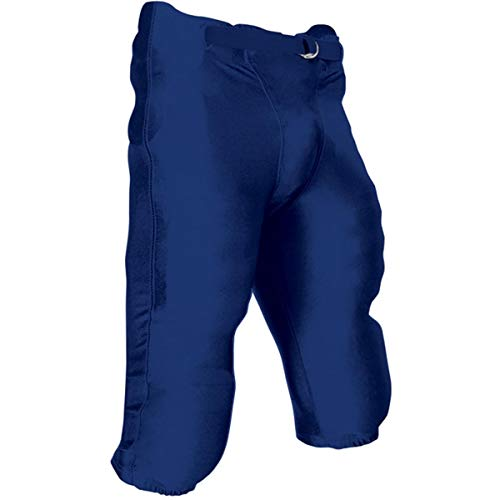 CHAMPRO Youth Integrated Football Game Pant Navy XS