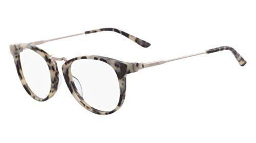 Calvin Klein Damen Ck18721 Sonnenbrille, Cream Tortoise, Standard