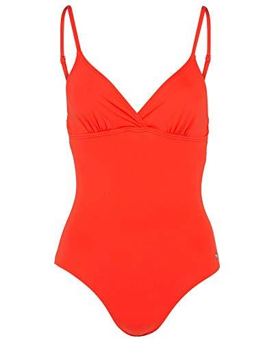 Bogner Fire & Ice Damen Badeanzug Style Juditha Farbe: Orange Gr. S 36 Swimsuit Badeanzug