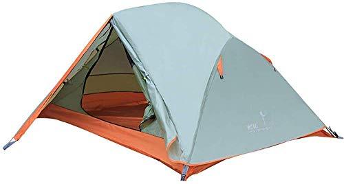NDYD 1-2 Persona Camping Tienda de campaña Playa Tents Sun Shelter Impermeable para Deportes al Aire Libre Senderismo Viajes de Lluvia DSB