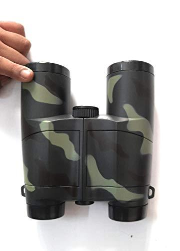 apk kids outdoor observing binoculars telescope toy spy gear/military color/folding binoculars/birthday return gifts-Green