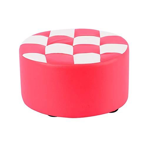 Sturdy stool - Simple moderno Sofá Banco Pequeño taburete Hogar Moda Hogar Sólido Taburete de cuero Sofá creativo Sofá Heces Sala de estar Café Mesa de Café Bajo Taburete Taburete Pier Cuero a