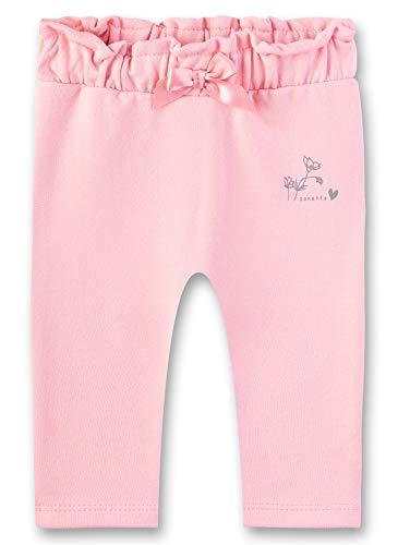 Sanetta Baby-Mädchen Sweatpants Jogginghose, Rosa (Lolly 3053), 68 (Herstellergröße: 068)