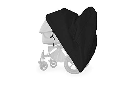 softgarage buggy softcush schwarz Abdeckung für Kinderwagen Mutsy Icon Regenschutz Regenverdeck