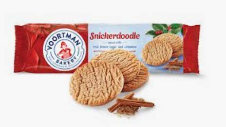 Voortman Snickerdoodle Cookies (Pack of 4)