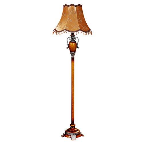 Ti-Fa Staande lamp Europese vloerlamp LED vloerlamp vintage leeslamp woonkamer slaapkamer kantoor café mode handmatige vloerlamp