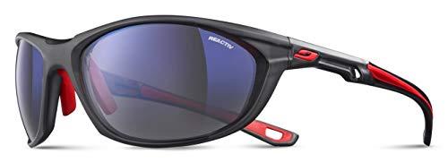 Julbo Race 2.0 Sonnenbrille Herren, schwarz (Red/black), Einheitsgröße