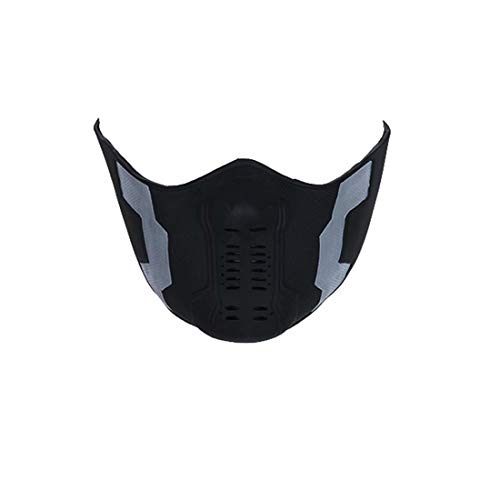 The Winter Soldiers Mask Vinyl Legion Mask, Halloween Cosplay Party Costume Props