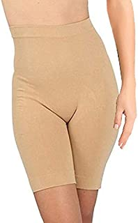 Pipal Heavy-Shapewear- Women's Blended High Waist Tummy & Thigh, Slim n Lift Body Shaper (Best Fits Upto 32 to 36 Waist Size) Fits Upto- XL, XXL