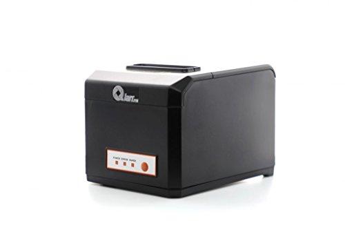 QIAN, Impresora Térmica, ANJET80, Impresora de Ticket TPV, 576 puntos/línea, Conexión USB/ethernet, con auto-corte, Ancho 72mm, velocidad 300mm/seg, negro, (QIT801701)
