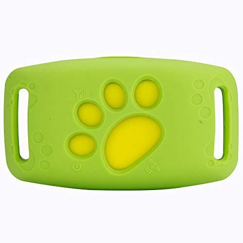 DjfLight GPS-halsband voor honden en katten, voor dieren, intelligente anti-kaduta voor dieren, micro tracker