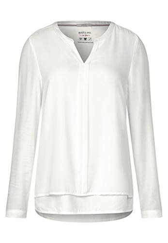 Cecil Damen 341743 Bluse, Offwhite, Large (Herstellergröße:L)