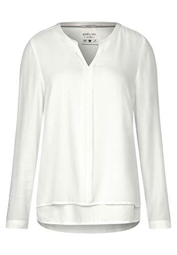 Cecil Damen 341743 Bluse, Weiß (Pure Off White 10125), X-Large (Herstellergröße:XL)