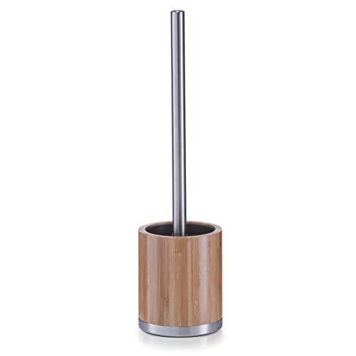 Zeller 18347 Toiletborstel Bamboe/RVS Diameter 9,6 x 36,5 cm