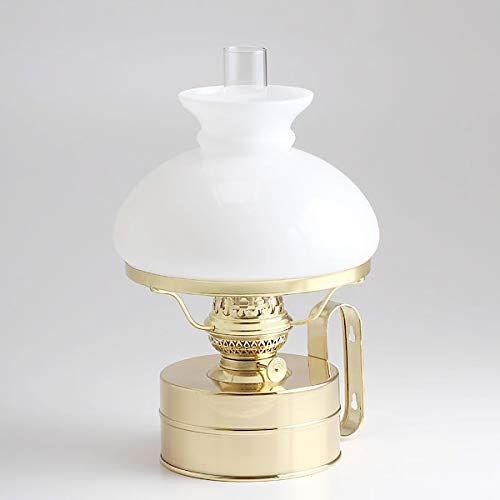 (DIL8878-WH)(ギャレ-ランプ-14乳白ホワイトセ-ド) 真鍮製 船舶燈オイルランプ ランタン オランダ製 DEN HAAN ROTTERDAM デンハーロッテルダムDHR ランタン マリンライト