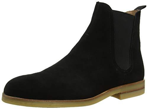 H by Hudson Herren Adlington Chelsea Boots, Schwarz (Black 01), 42 EU