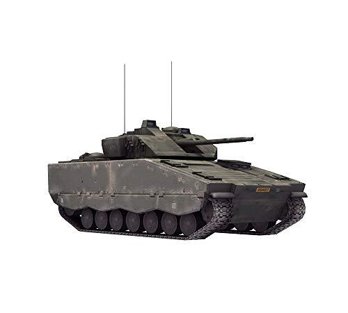 Puzzle Tanque Militar Modelo, La Segunda Guerra Mundial Sueca 1:35'CV90-40 del Modelo del Tanque, De Los Niños Juguetes De Plástico (4,4 Pulg*7.7Inch*3.2 Pulgadas)