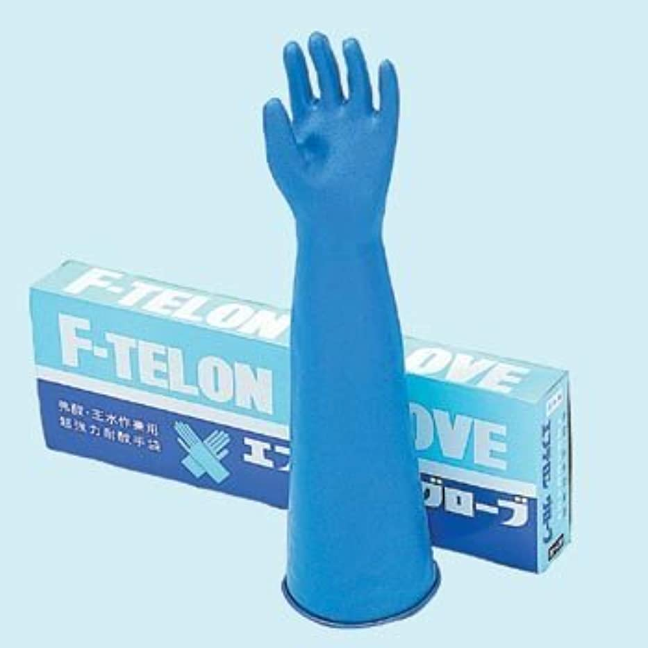 過ち調べる予防接種するハナキゴム エフテロングローブB-22L 薄手?植毛付き 長型 1双