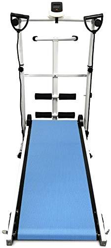Manual de la máquina rodante caminar triple, caderas se sientan diales en funcionamiento, el poder puramente mecánico LED,Blue