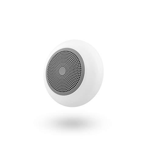 T´NB- Altavoz Gris con Bluetooth y Lector de Tarjetas Micro SD Integrado - Compatible con Todo los Dispositivos electrónicos. Retroiluminación LED.