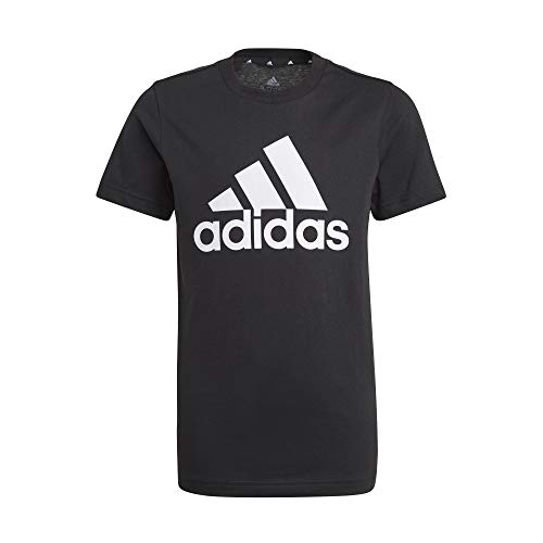 adidas Jungen B Bl T Shirt, Schwarz/Weiß, 11 Jahre EU