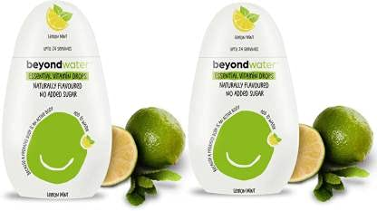 Beyond Water - Water Enhancer for Infusing your Drinks (Lemon Mint Pack of 2)