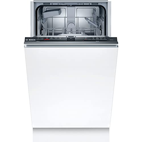 Bosch SRV2HKX39G Serie 2, Fully-integrated Dishwasher with ExtraDry, InfoLight, Auto Programmes, EcoSilence Drive and AquaStop, 9 place settings, 45 cm