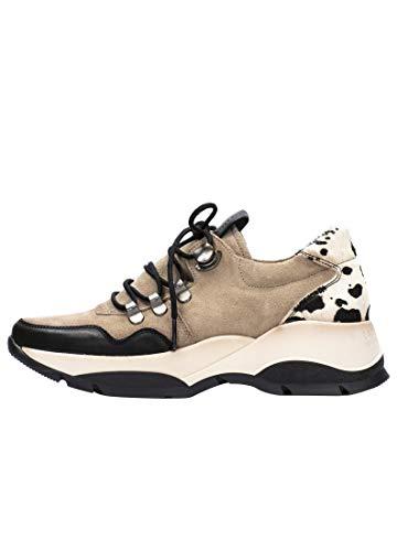 HISPANITAS Zapato Casual cómodo Mujer His PHI00795 Vison - 39, Vison