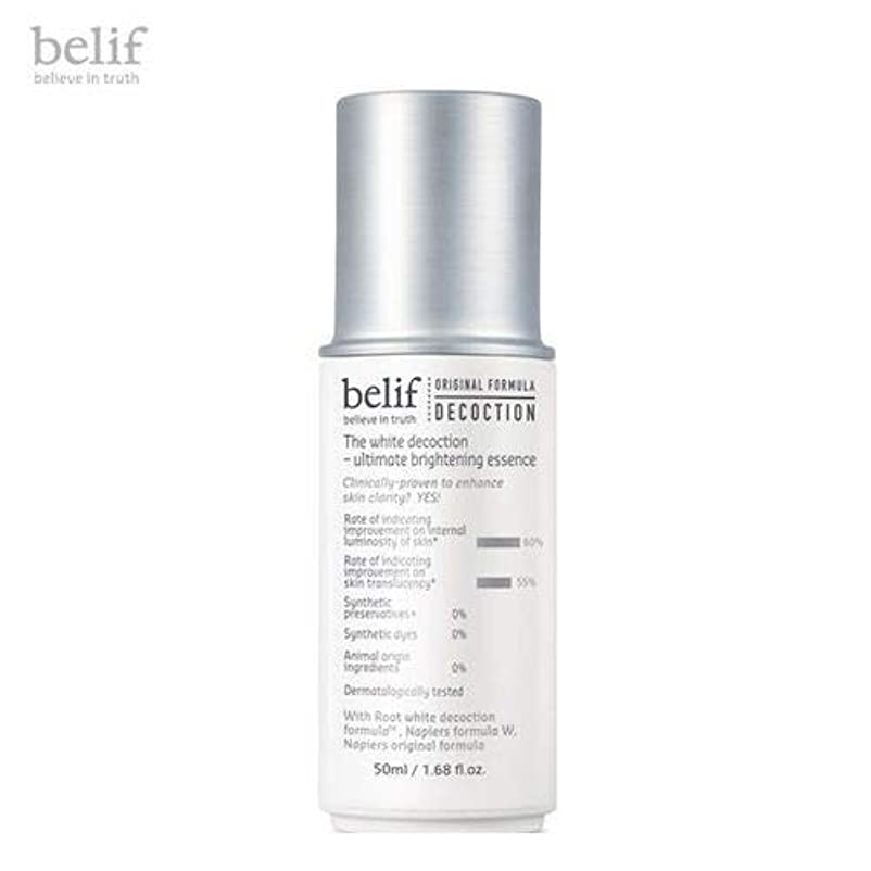 belif The White Decoction - Ultimate Brightening Essence 50ml [並行輸入品]